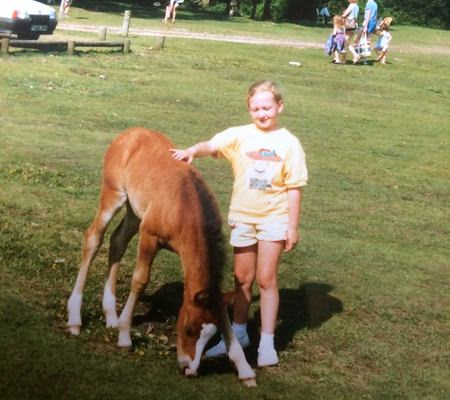 Me and a foal