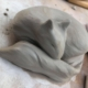 Fox clay sculpt
