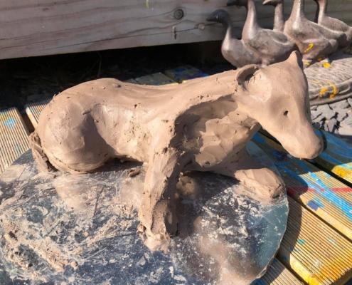 Clay Badger Sculpt